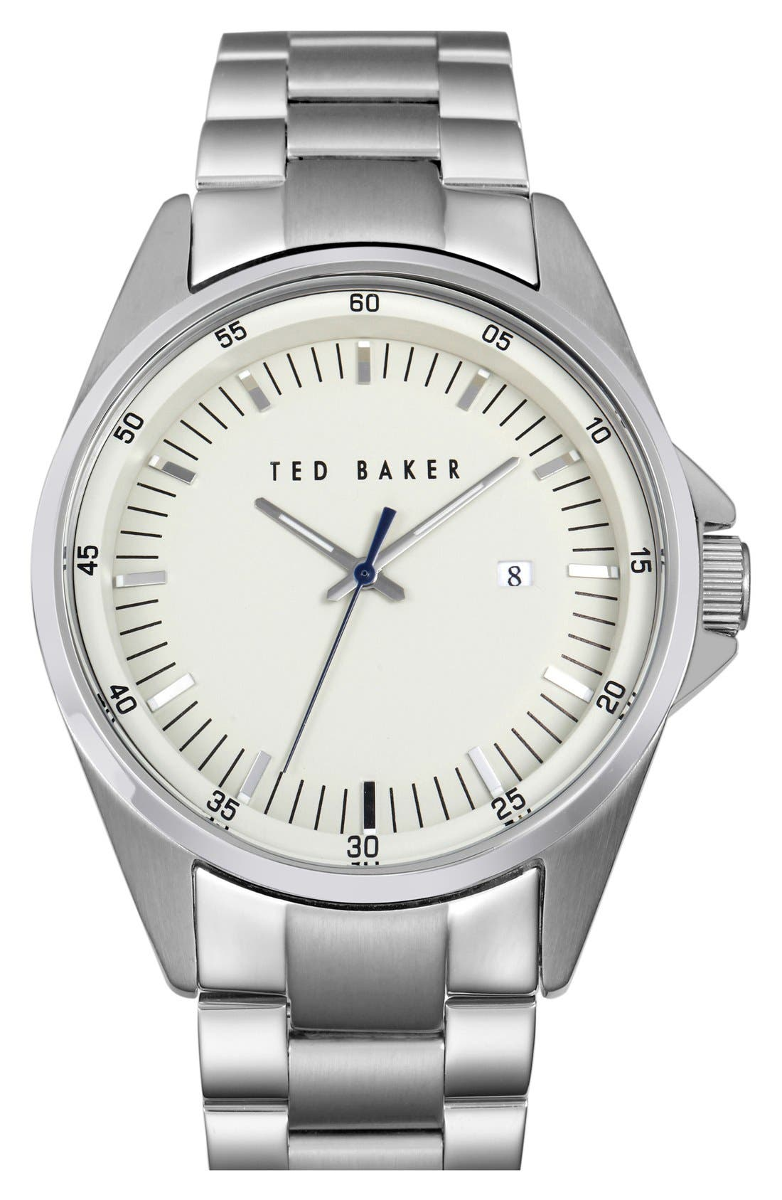 Main Image - Ted Baker London Round Bracelet Watch, 42mm