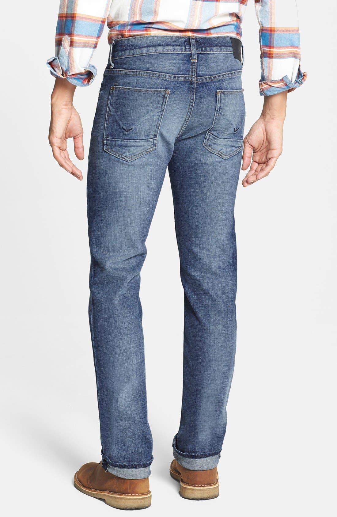 Alternate Image 2  - Hudson Jeans 'Byron' Straight Leg Jeans (Rebel Roadside)