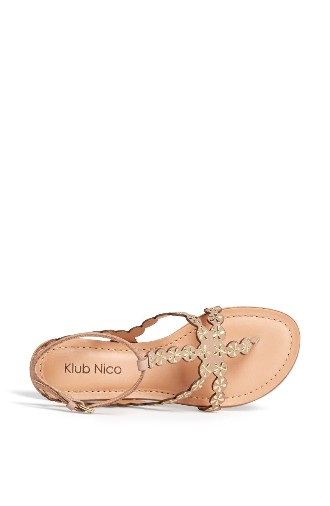 Alternate Image 4  - Klub Nico 'Jovie' Sandal