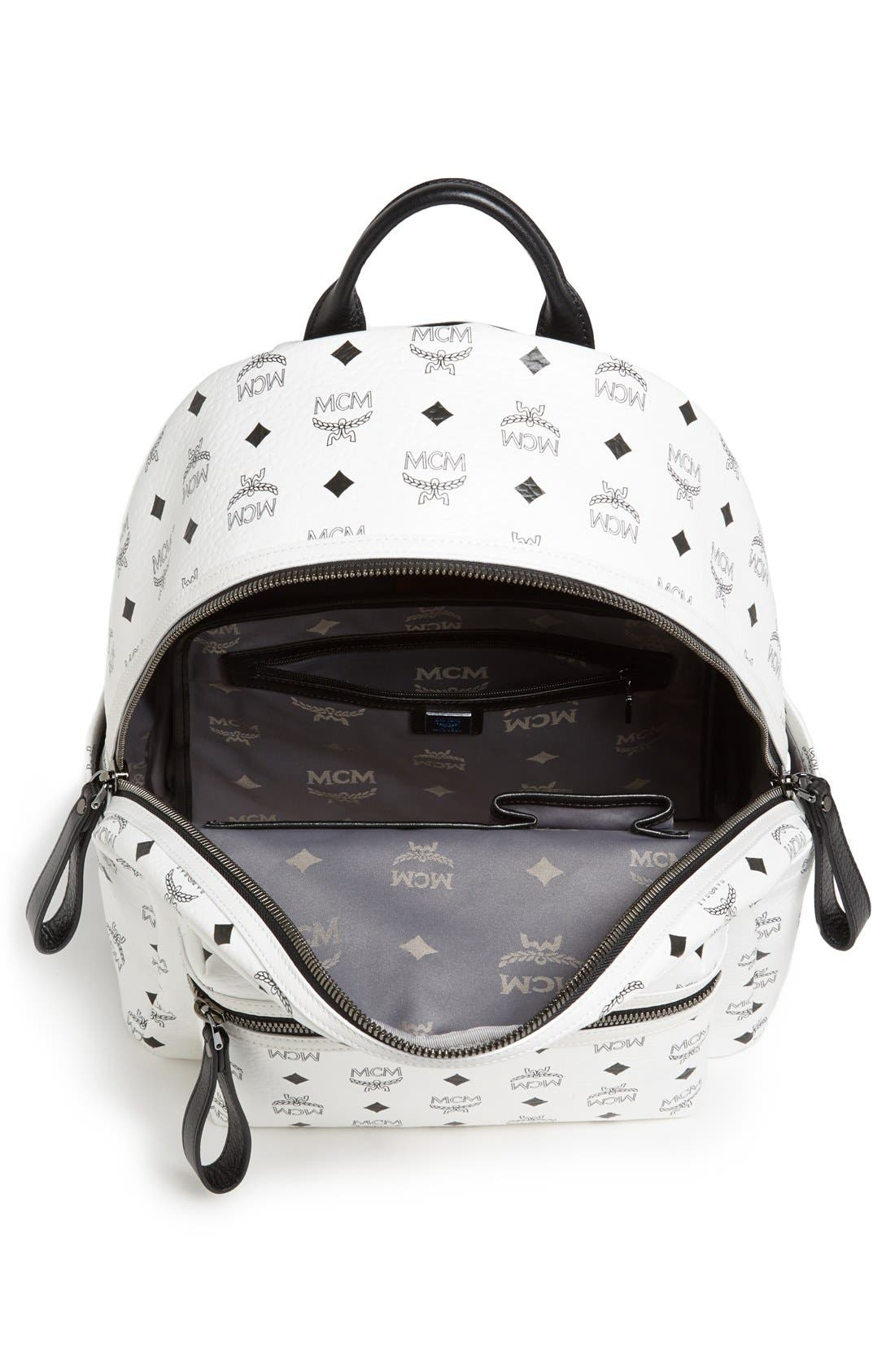 Alternate Image 3  - MCM 'Medium Stark' Logo Print Backpack