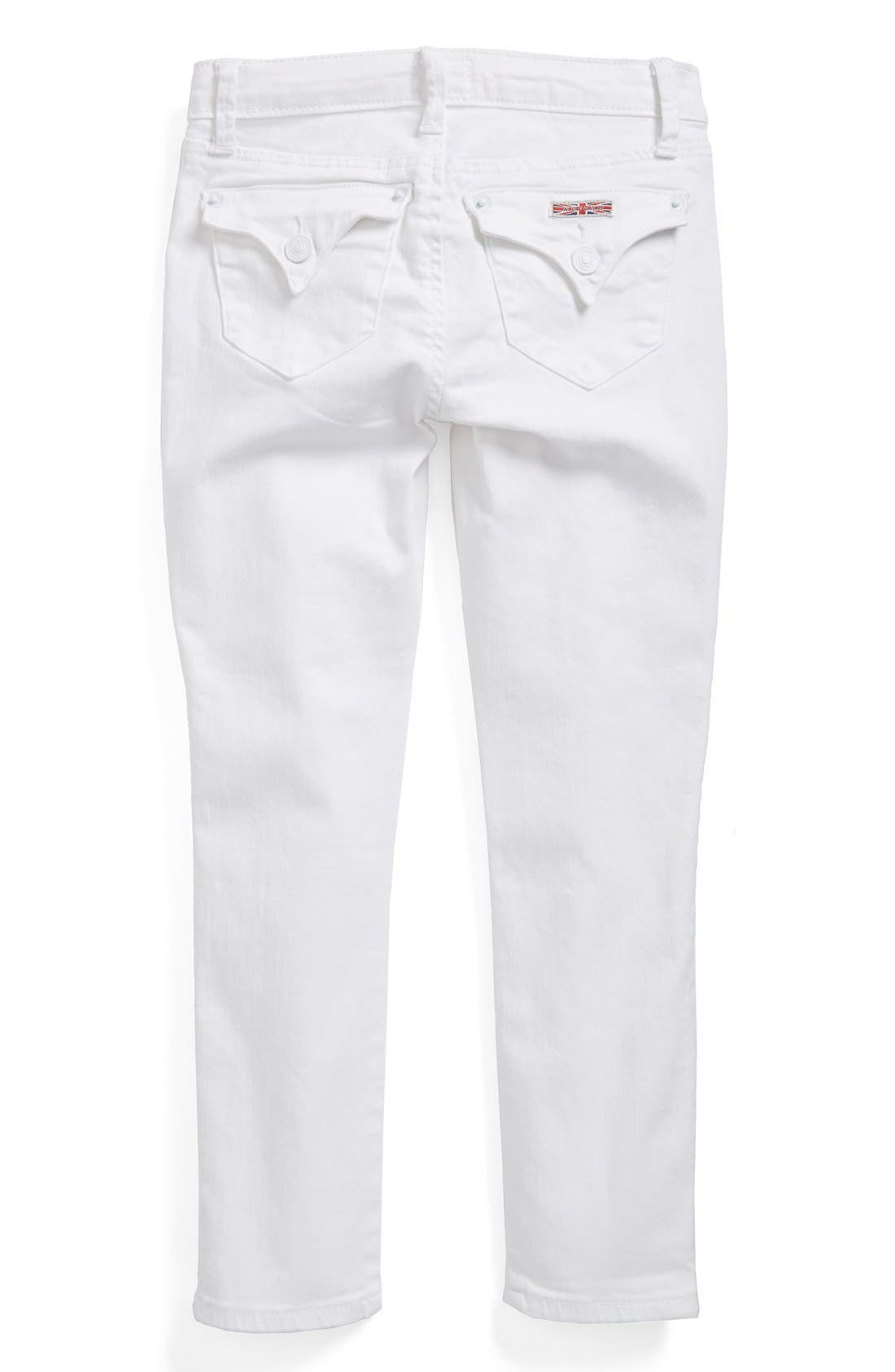 Alternate Image 1 Selected - Hudson Kids 'Collin' Skinny Jeans (Toddler Girls & Little Girls)