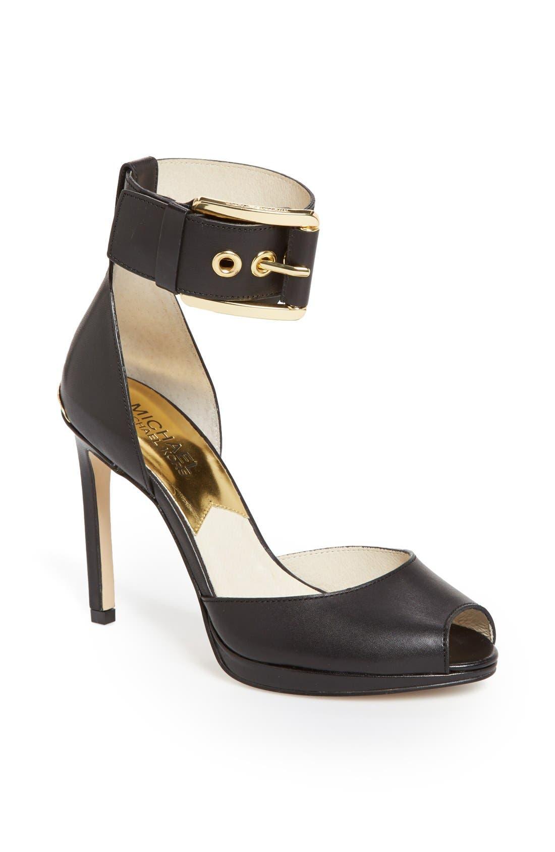 Alternate Image 1 Selected - MICHAEL Michael Kors 'Calder' Ankle Strap Sandal