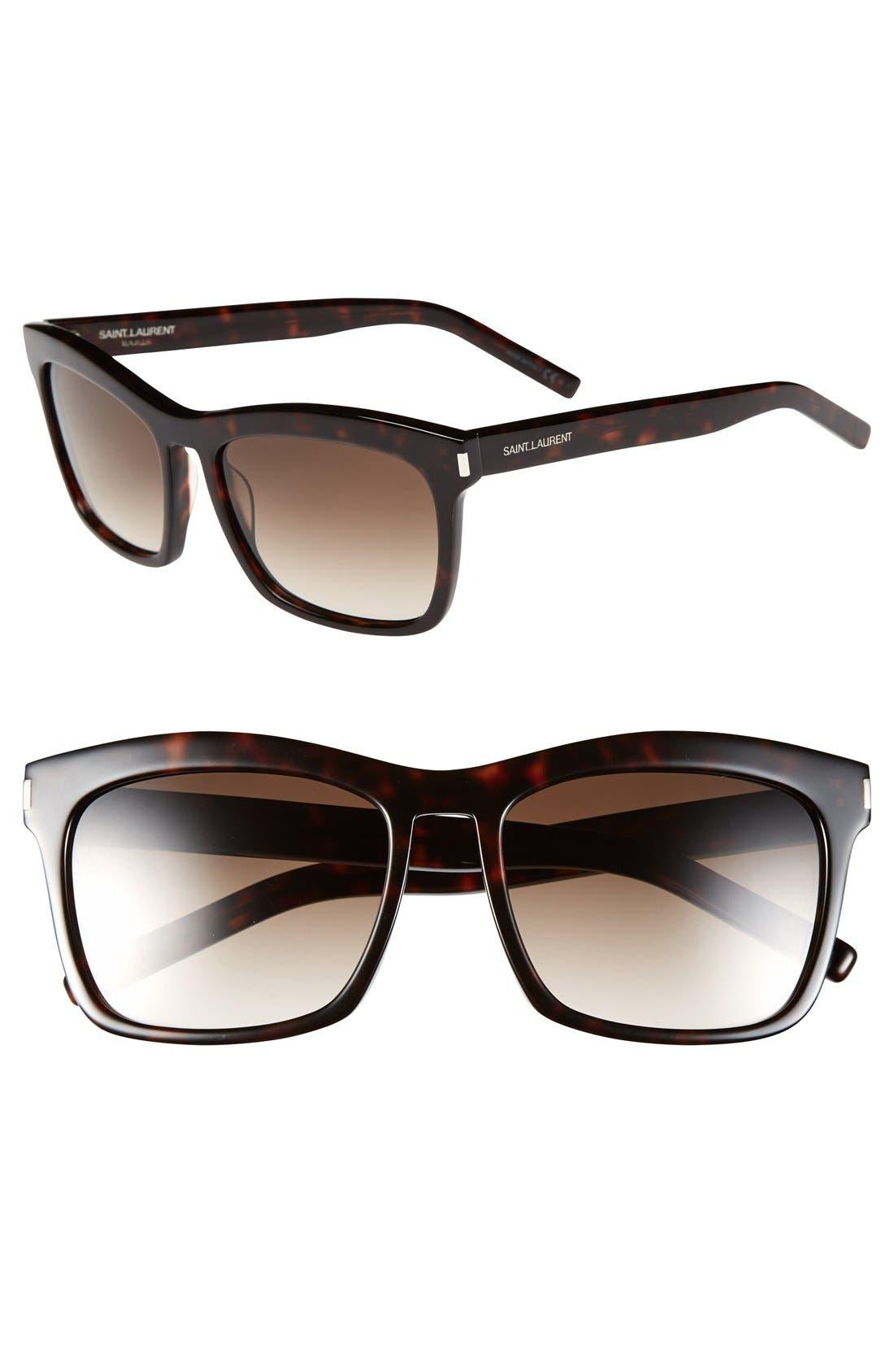 Main Image - Saint Laurent 56mm Retro Sunglasses
