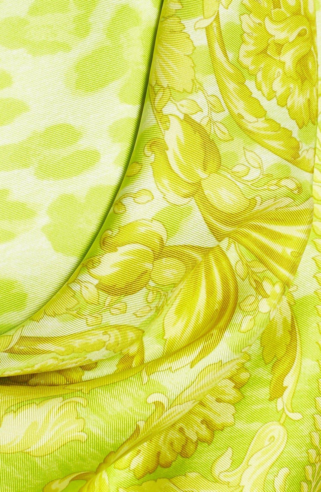 Alternate Image 3  - Versace Silk Foulard Scarf