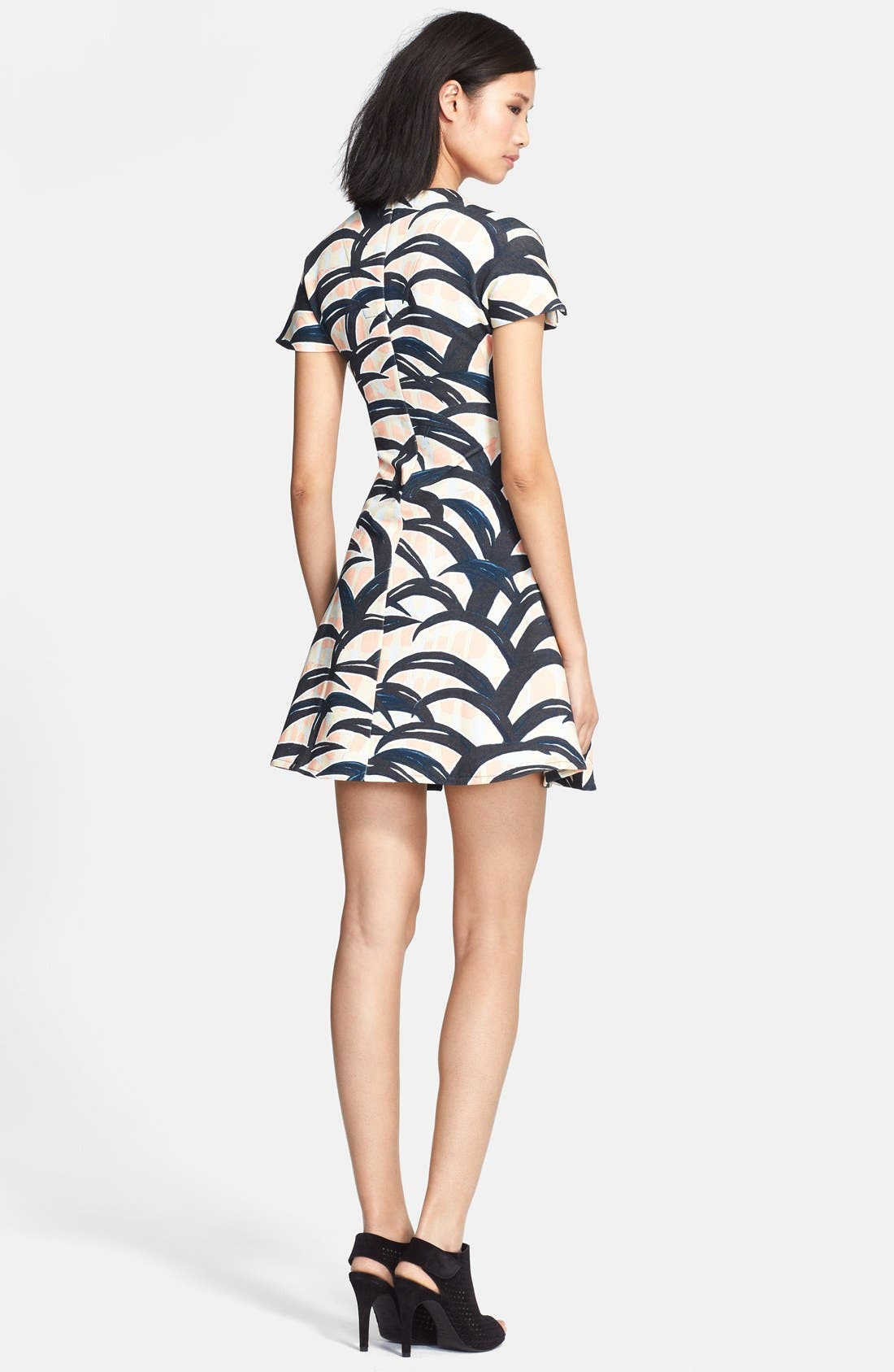 Alternate Image 2  - KENZO Patterned Cotton Dress