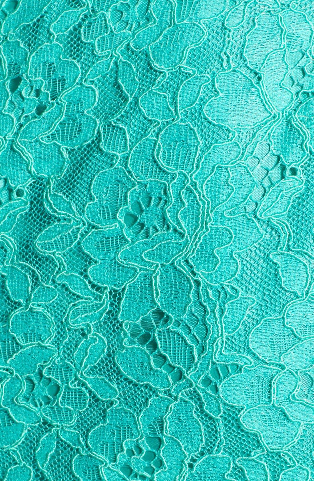 Alternate Image 4  - Shoshanna 'Judith' Lace Fit & Flare Dress