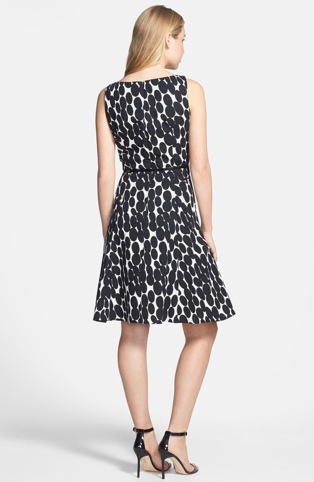 Alternate Image 2  - Wallis 'Oval Spots' Fit & Flare Dress
