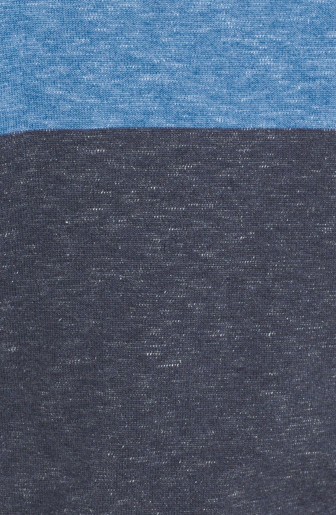 Alternate Image 3  - Grayers 'Onlan' Colorblock Trim Fit Crewneck Sweater
