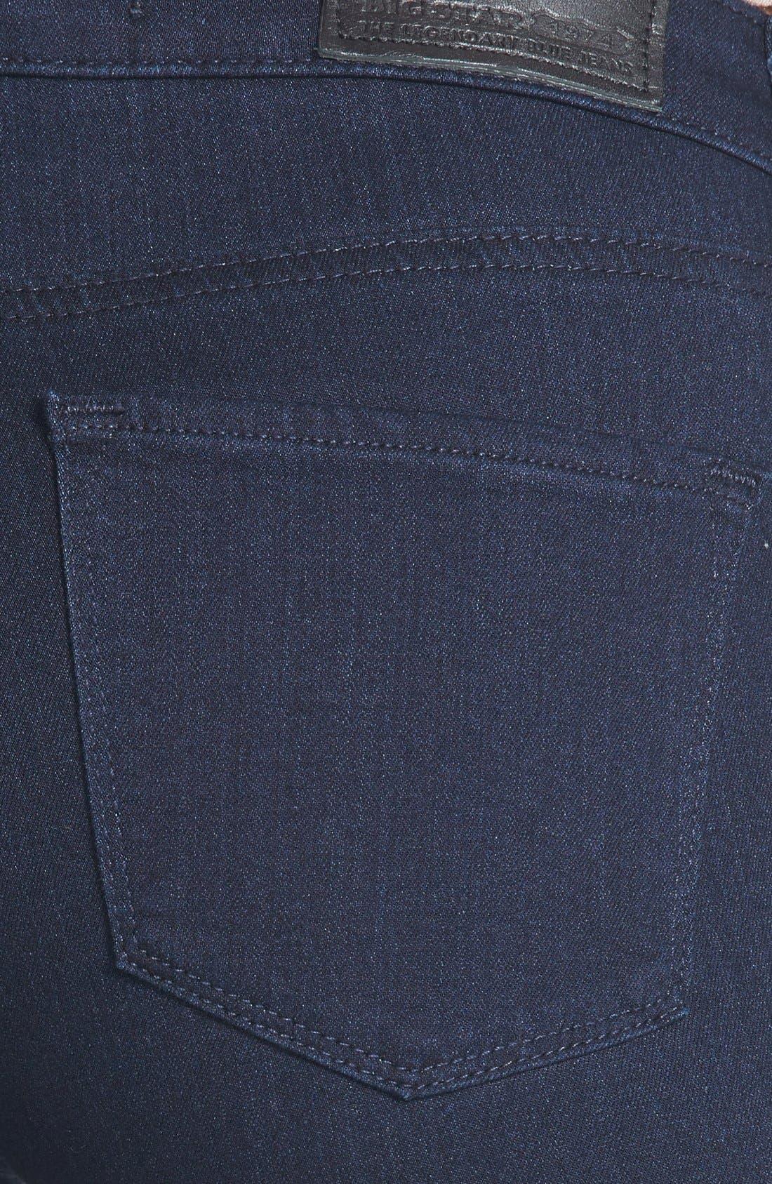 Alternate Image 3  - Big Star 'Ava' Jeans Super Skinny Stretch Jeans (Harmony Dark) (Petite)