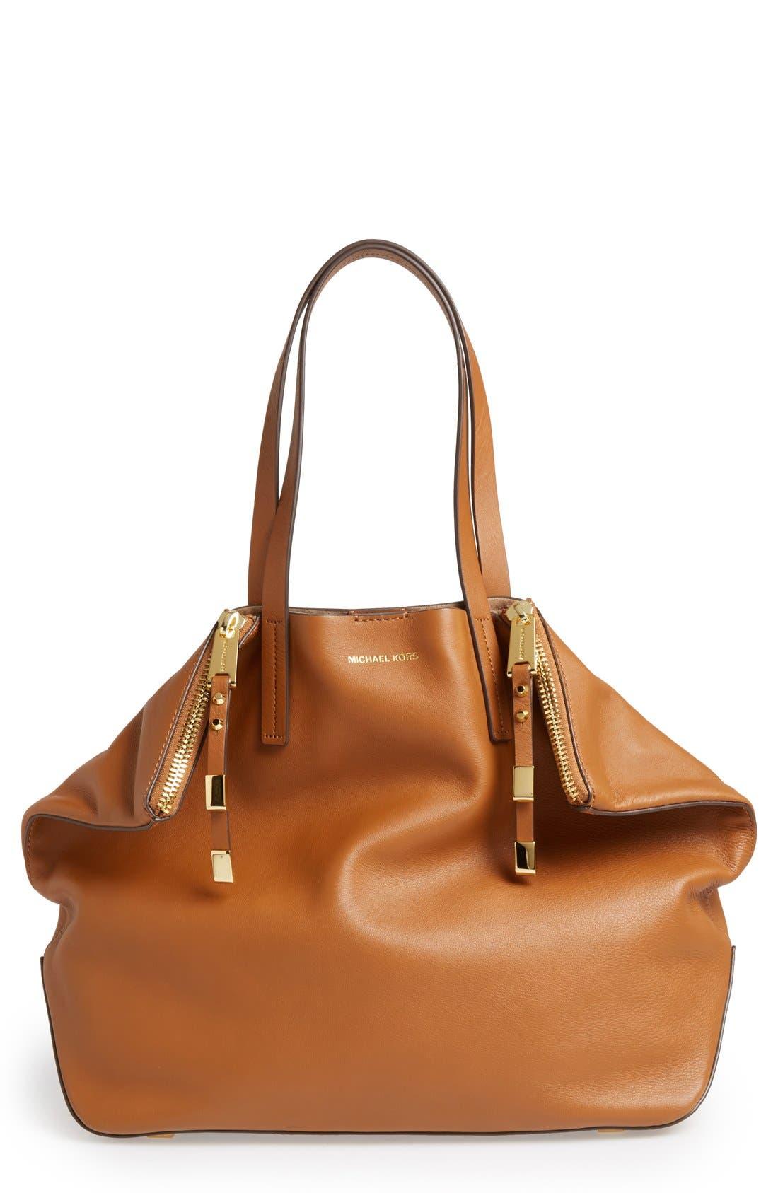 Alternate Image 1 Selected - Michael Kors 'Large Miranda' Leather Shopper