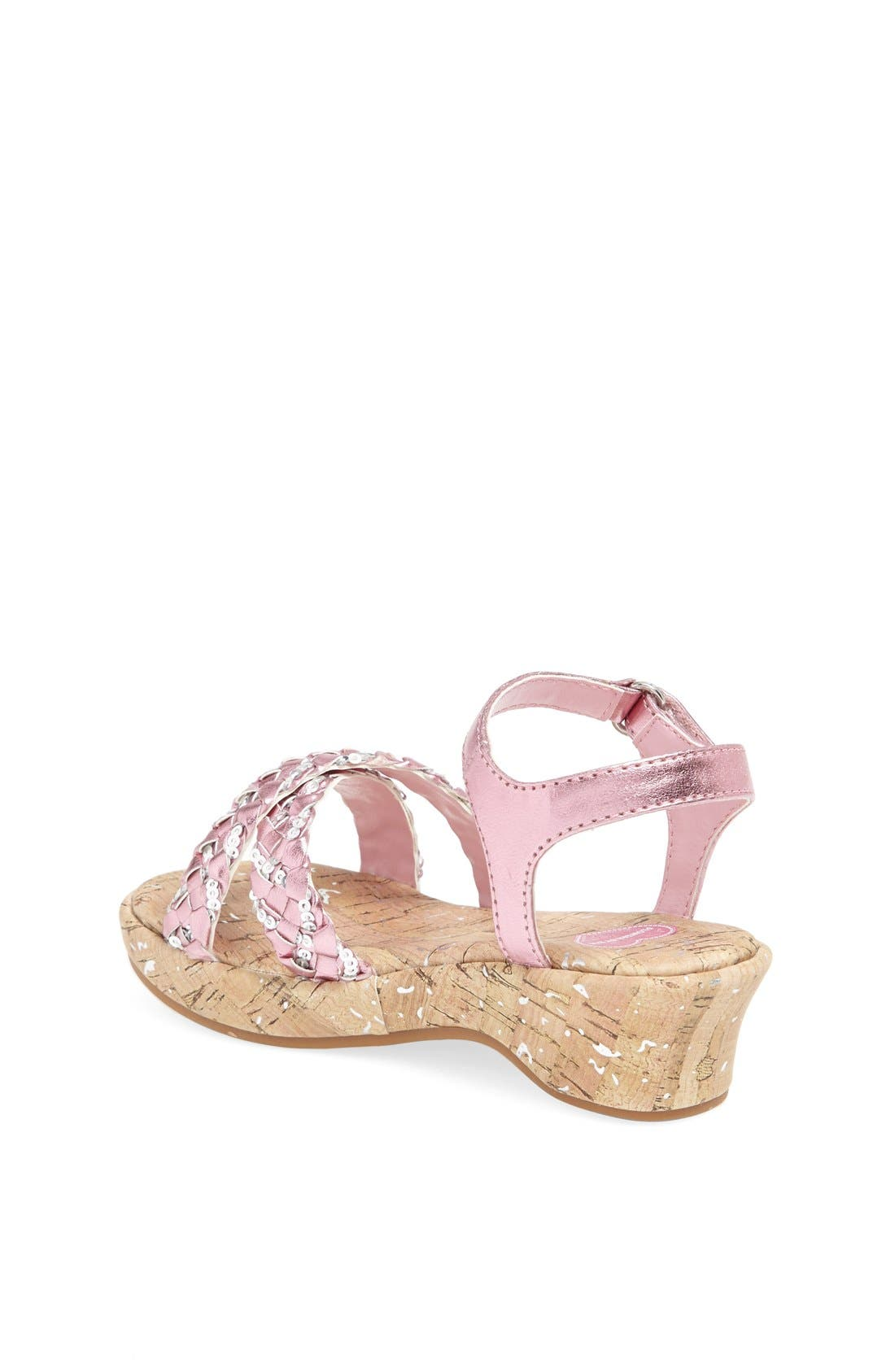 Alternate Image 2  - Flowers by Zoe 'Brenda' Wedge Sandal (Toddler)