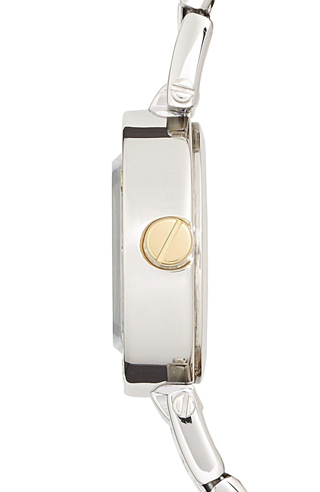 Alternate Image 3  - Timex® 'Starlight' Crystal Bezel Bracelet Watch, 24mm