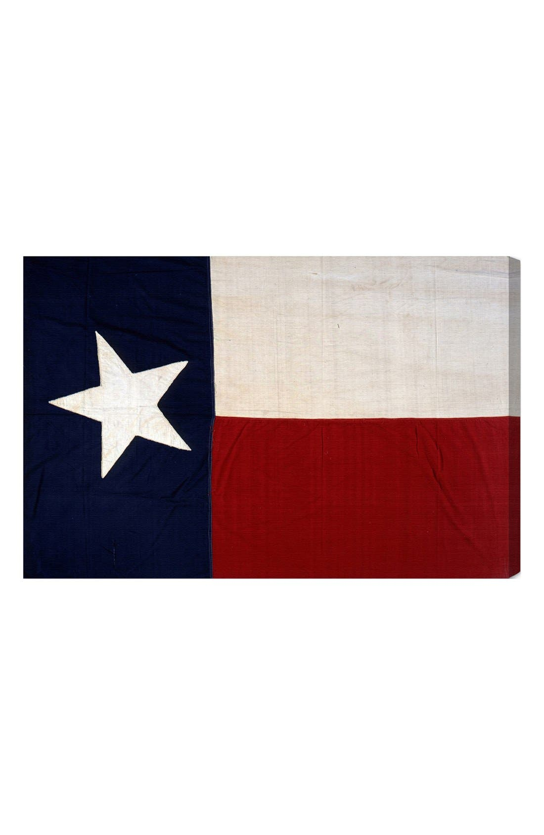 Oliver Gal 'Lone Star Flag' Wall Art