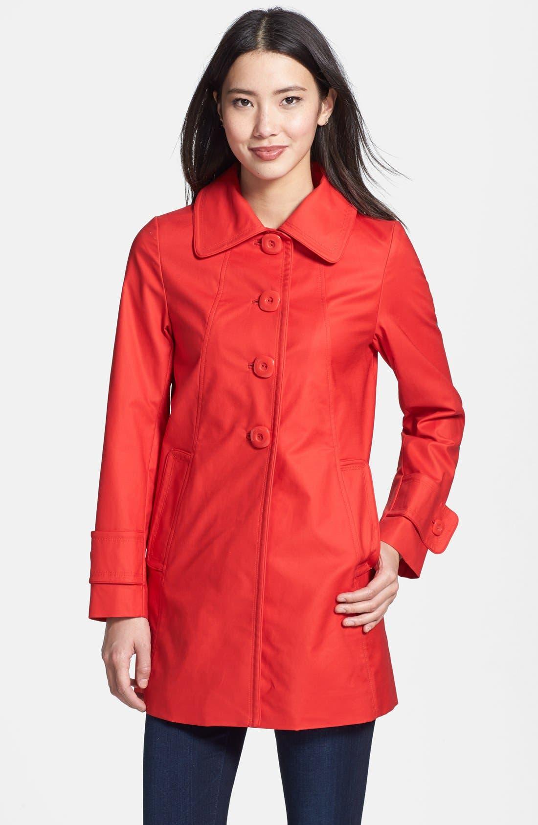 Main Image - Trina Turk 'Madelyn' A-Line Coat