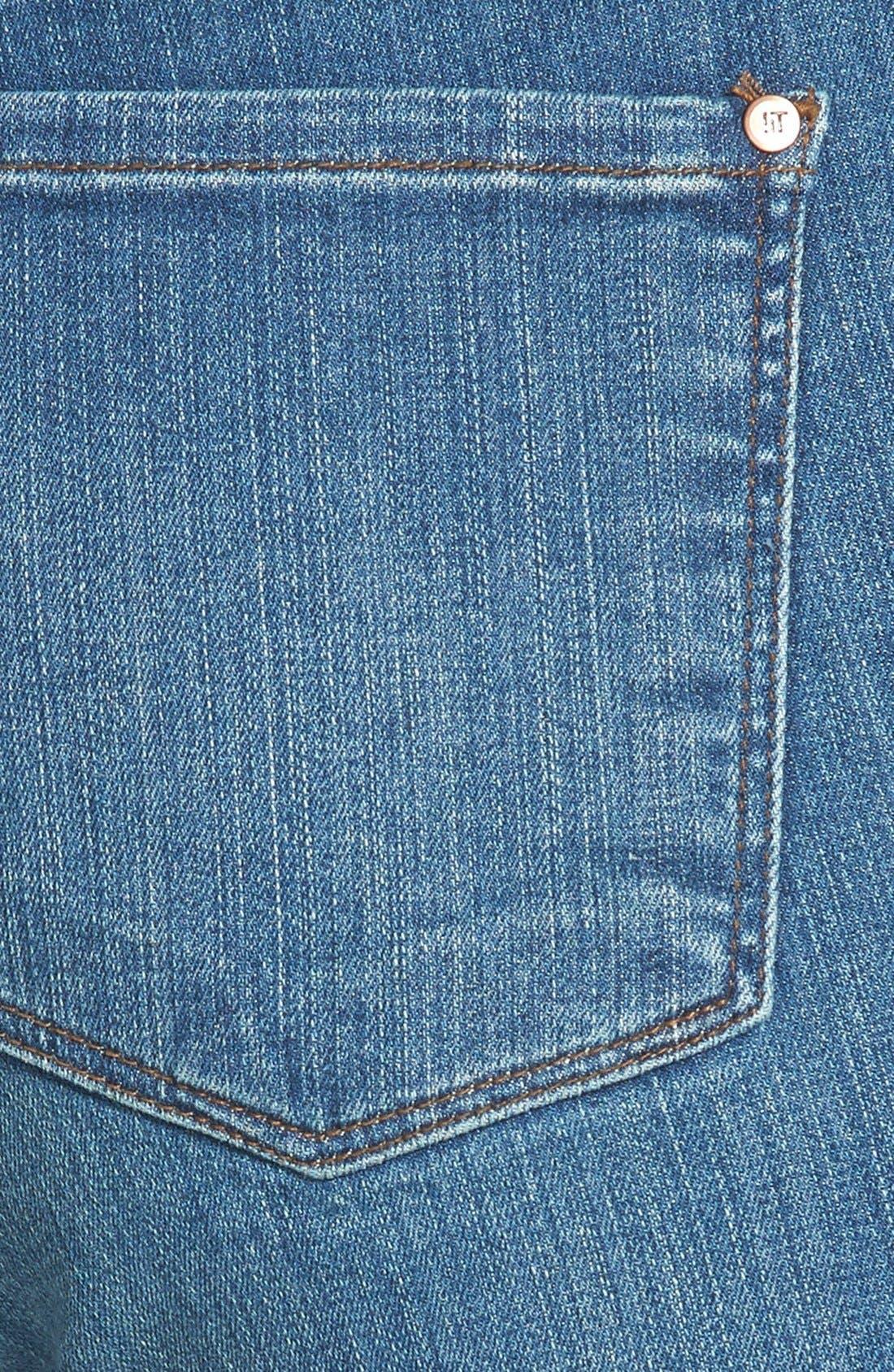 Alternate Image 3  - !iT Collective 'Lauren' Stretch Skinny Jeans (Solstice)
