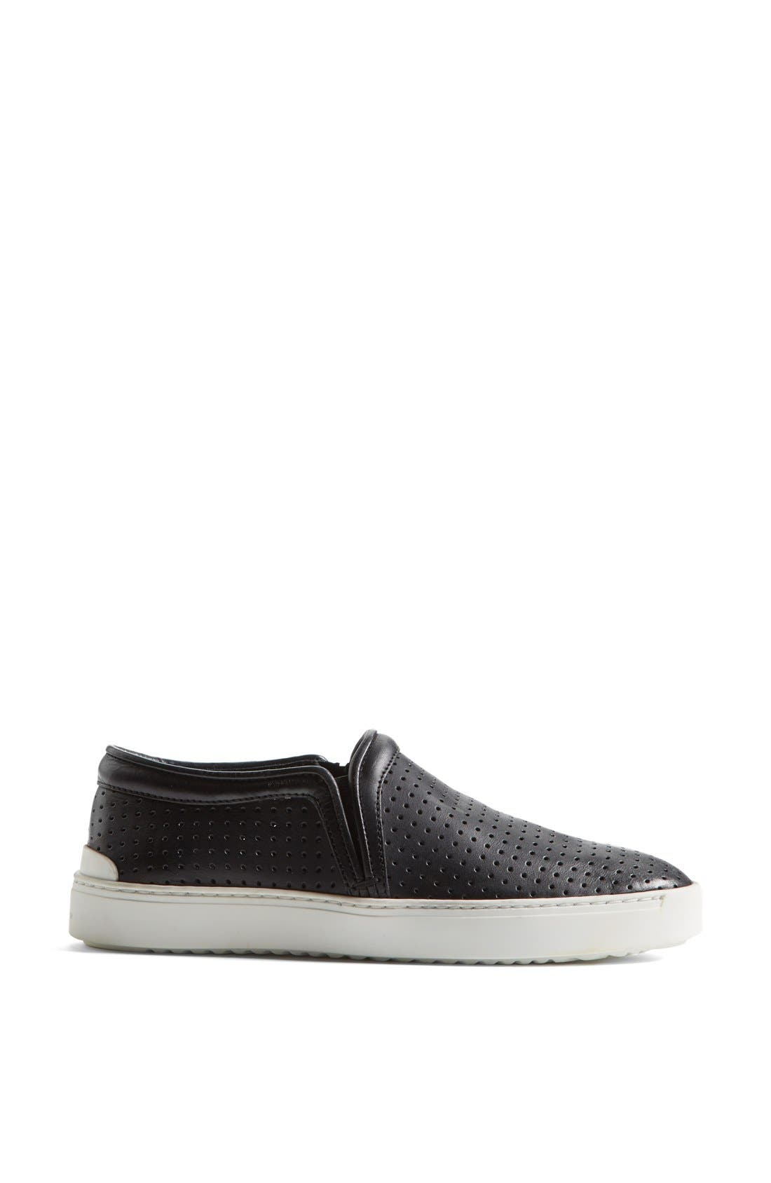 Alternate Image 4  - rag & bone 'Kent' Perforated Leather Slip-On