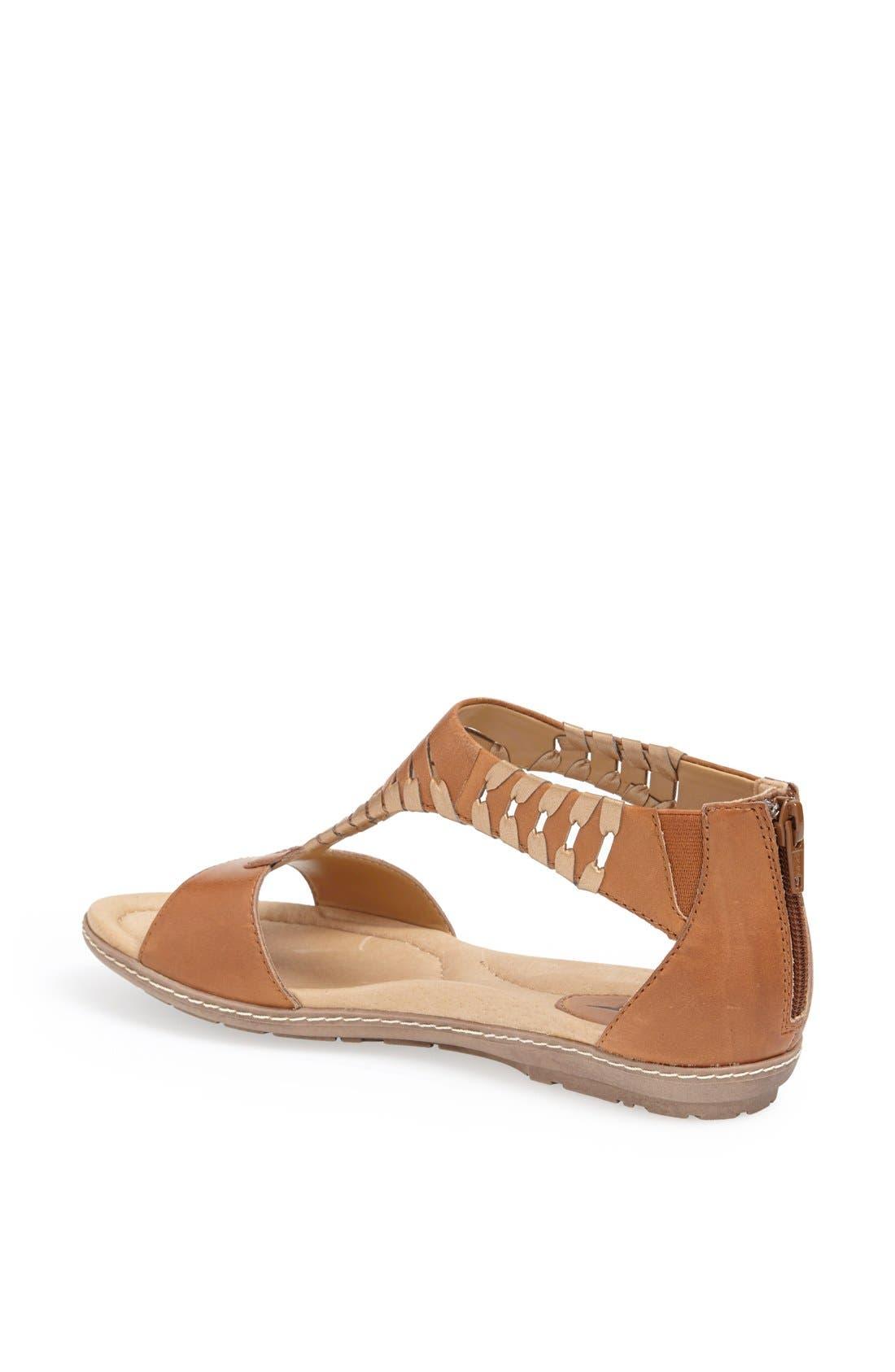 Alternate Image 2  - Earth® 'Shell' Cutout Leather Sandal