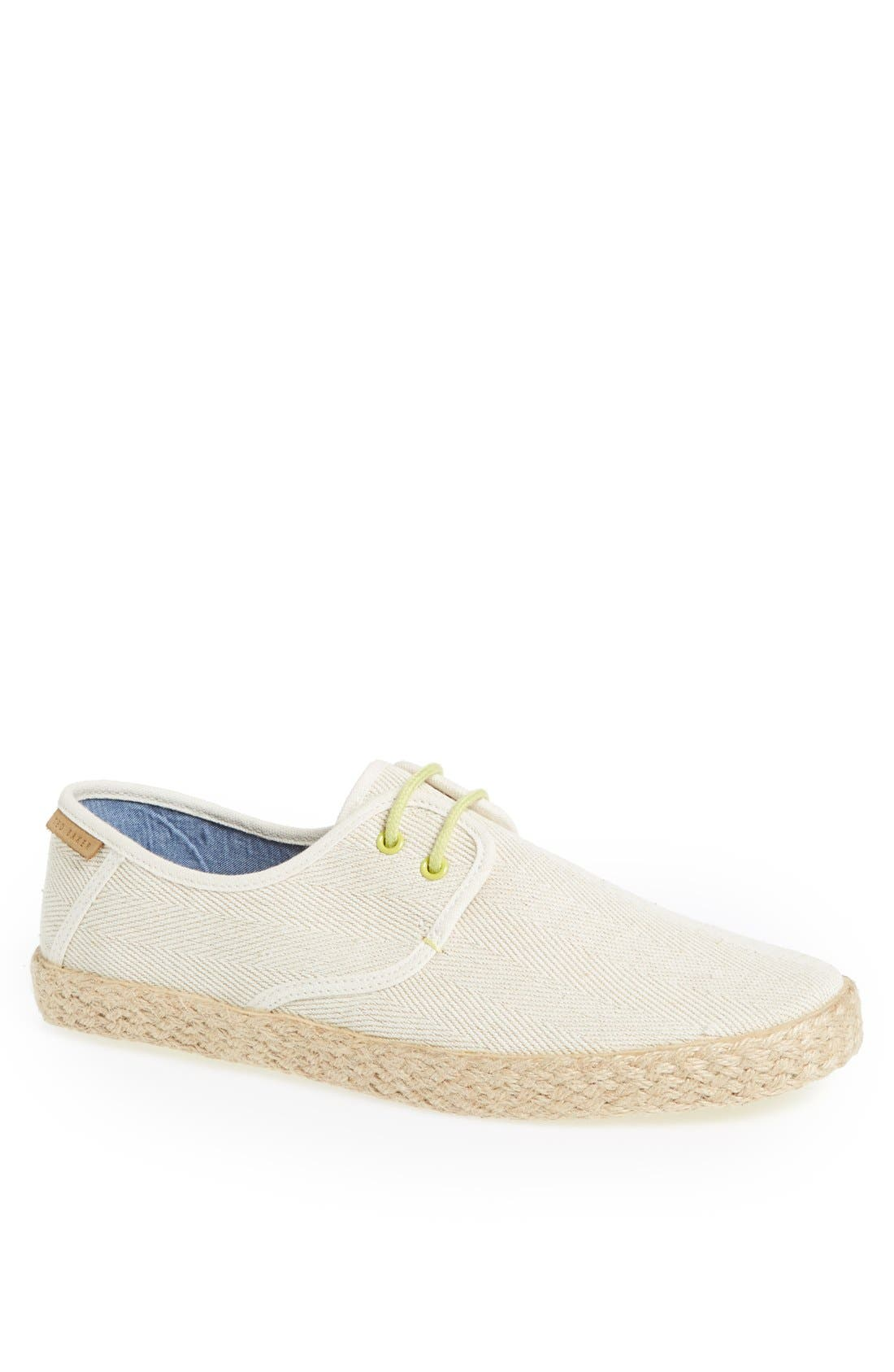 Main Image - Ted Baker London 'Drilll 3' Espadrille Sneaker