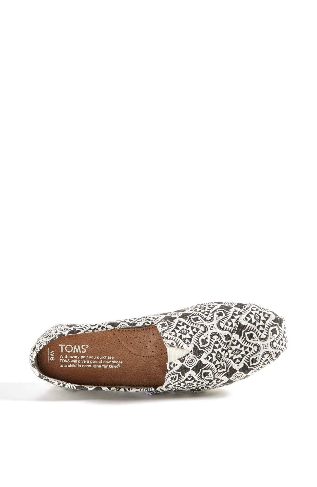 Alternate Image 3  - TOMS 'Classic - Kaleidoscope' Slip-On (Women)