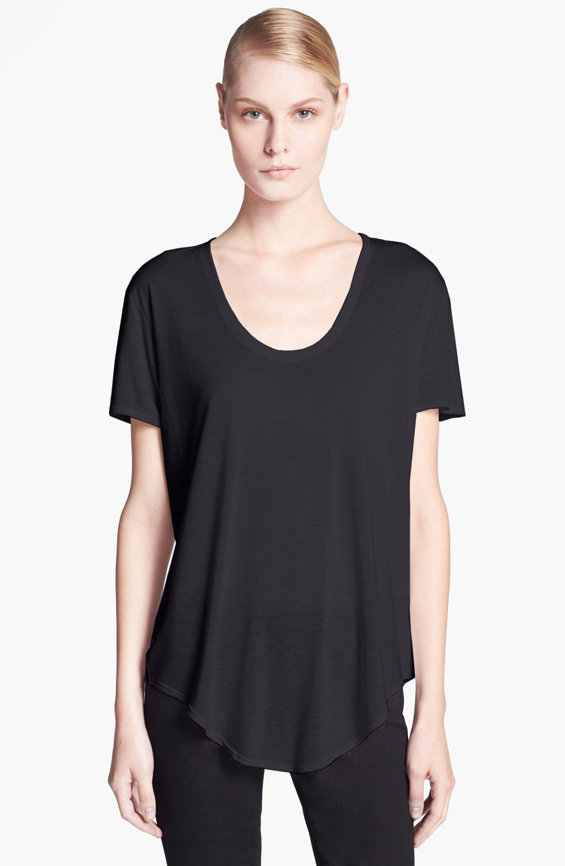 Alternate Image 1 Selected - HELMUT Helmut Lang 'Kinetic' Jersey Top