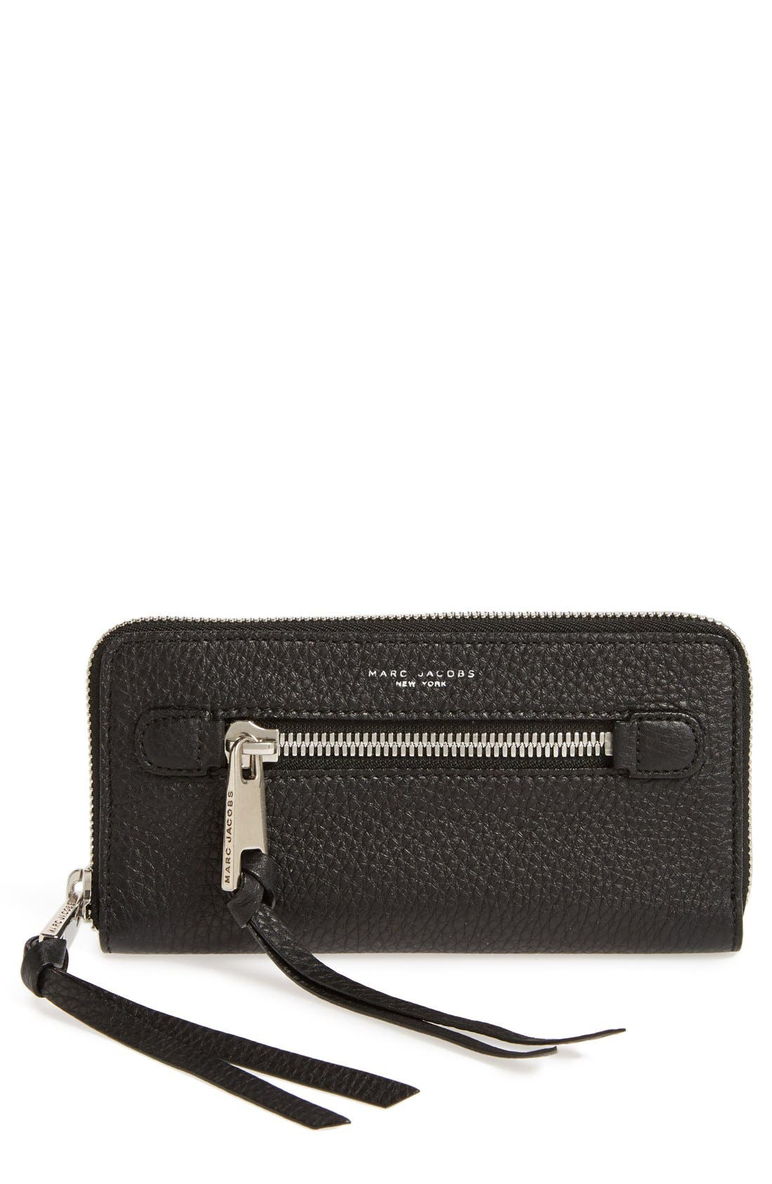 Alternate Image 1 Selected - MARC JACOBS 'Big Apple Deluxe' Calfskin Leather Wallet