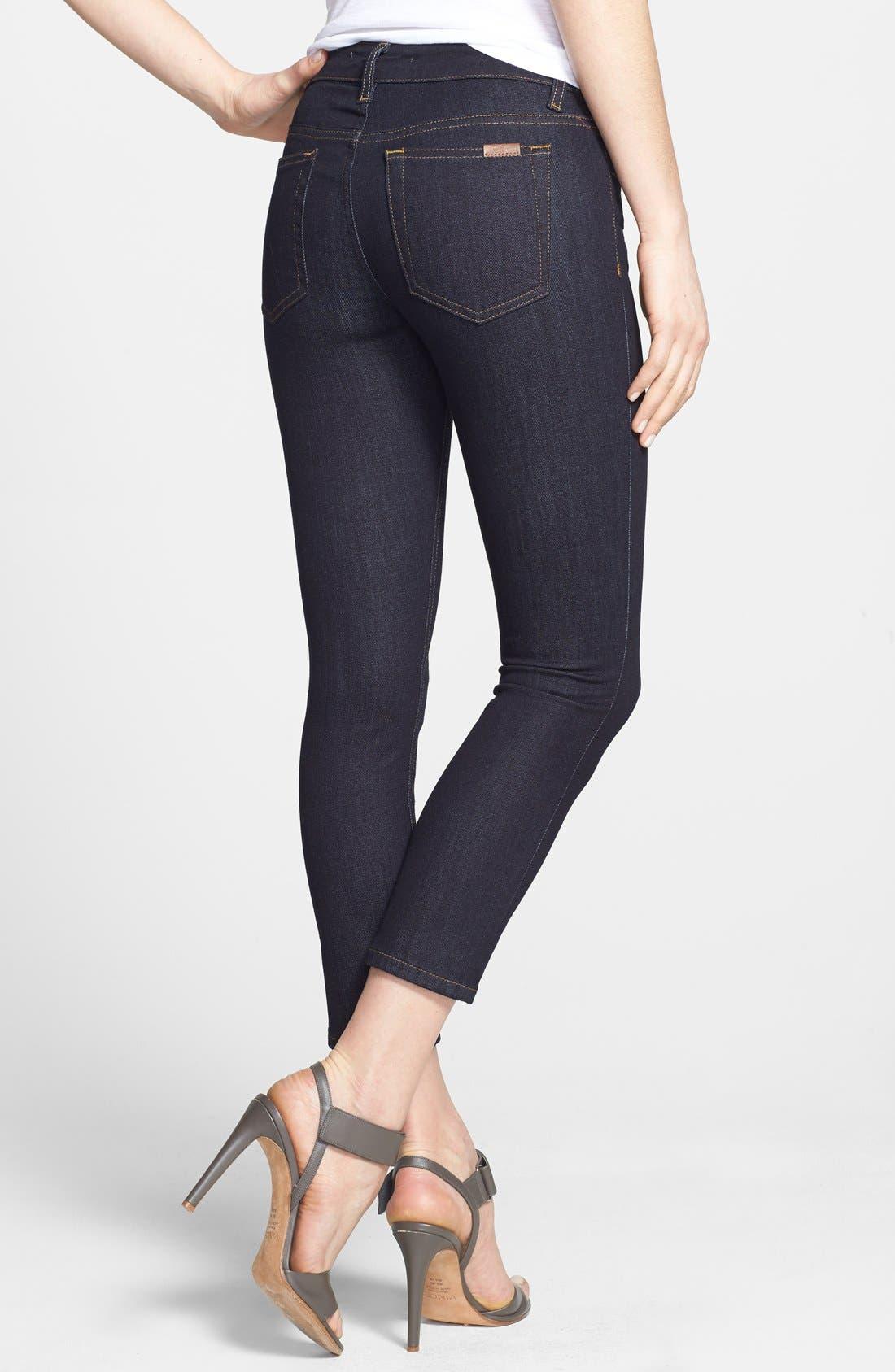 Alternate Image 2  - Joe's Crop Skinny Jeans (Ellie)