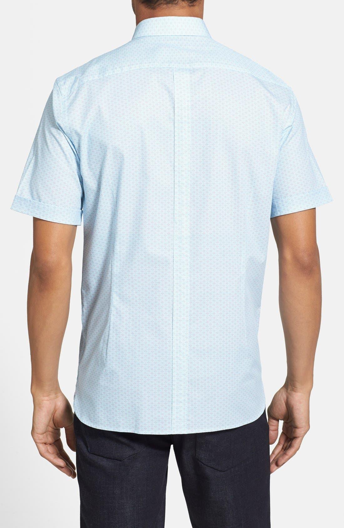 Alternate Image 2  - Report Collection Trim Fit Short Sleeve Sport Shirt