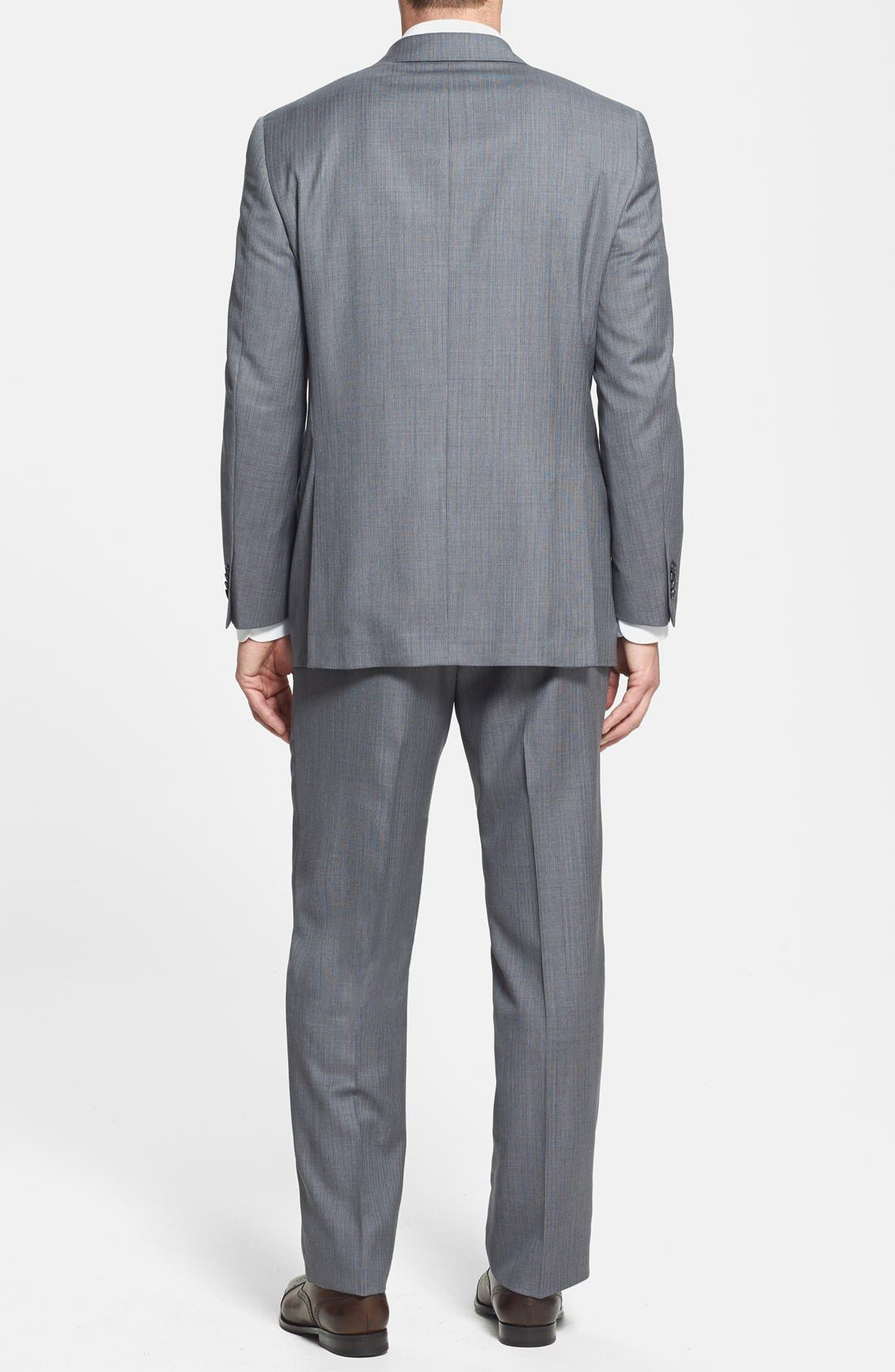 Alternate Image 2  - Hart Schaffner Marx 'Chicago' Classic Fit Wool Suit
