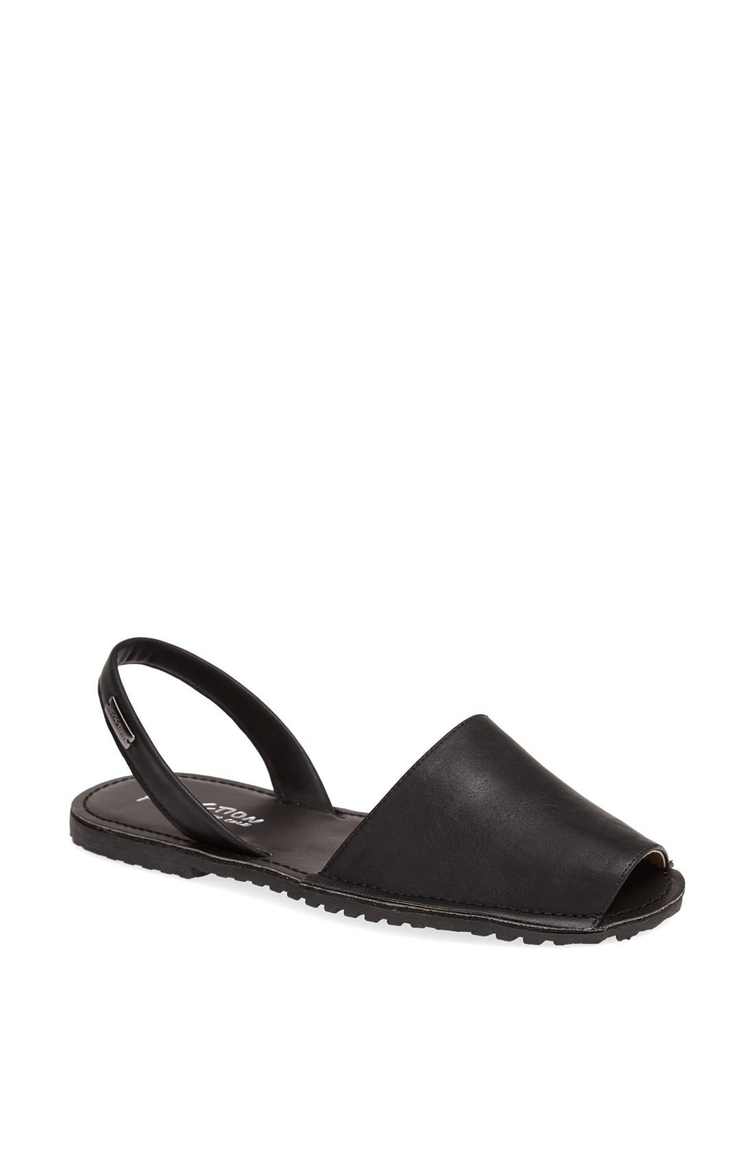 Alternate Image 1 Selected - Kenneth Cole Reaction 'Wipe Away' Slingback Sandal