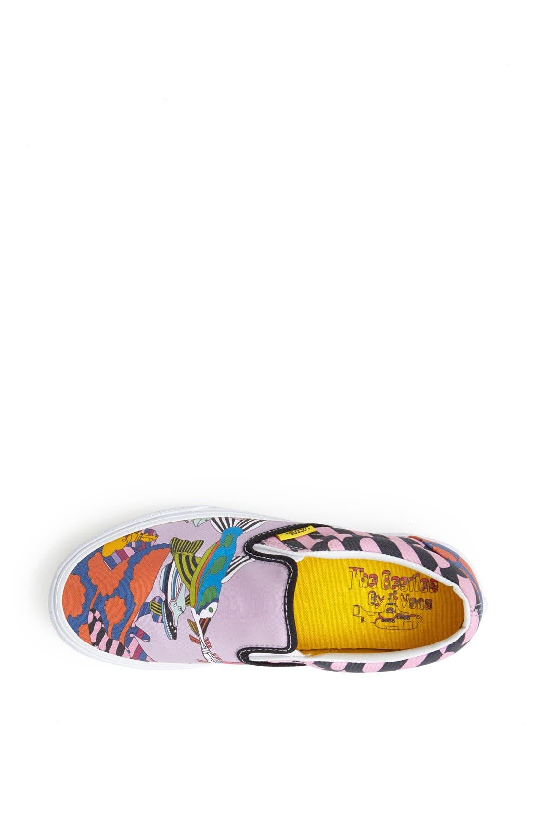 Alternate Image 3  - Vans 'Sea of Monster' Slip-On Sneaker (Women)