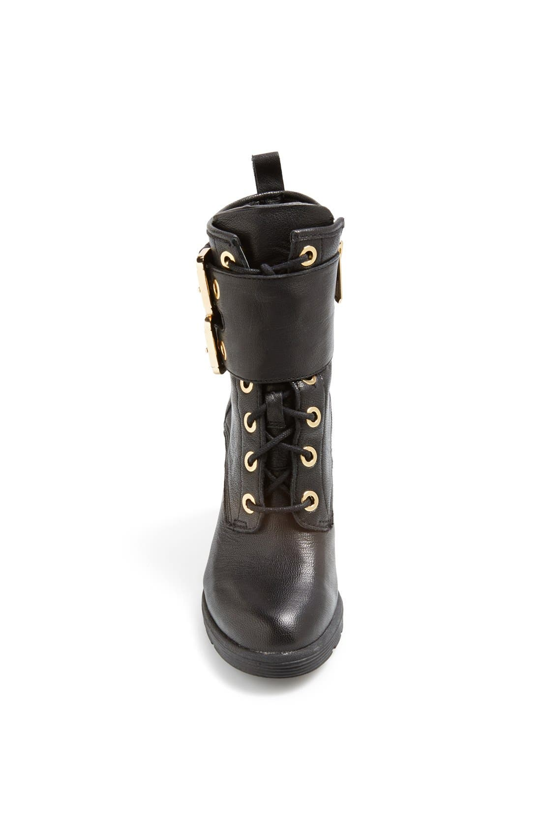 Alternate Image 3  - GUESS 'Finlay' Belted Leather Bootie