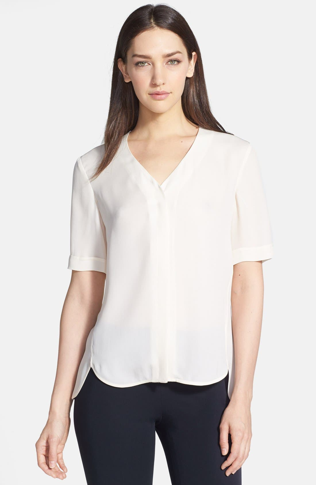 Main Image - Theory 'Napala' Silk Blouse