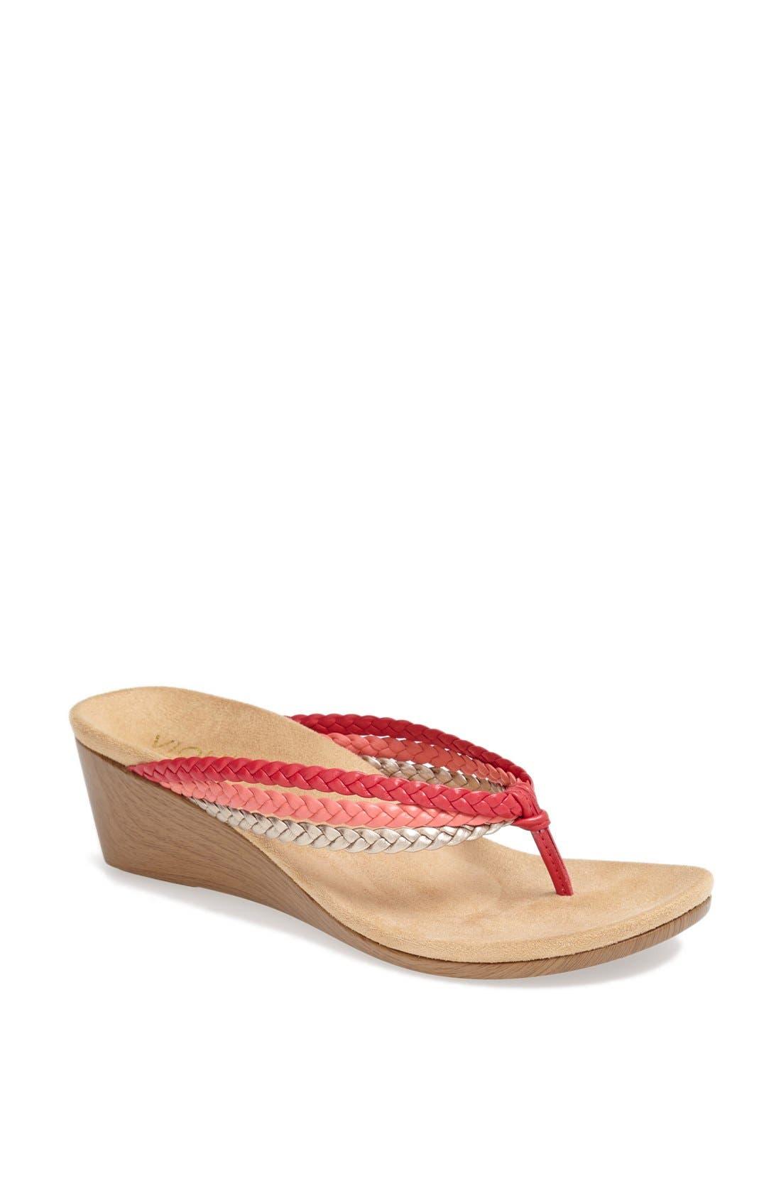 Alternate Image 1 Selected - Vionic 'Ramba' Wedge Sandal