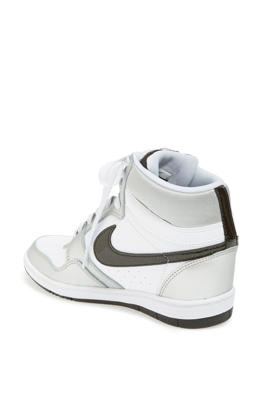 Alternate Image 4  - Nike 'Force Sky Hi' Wedge Sneaker (Women)