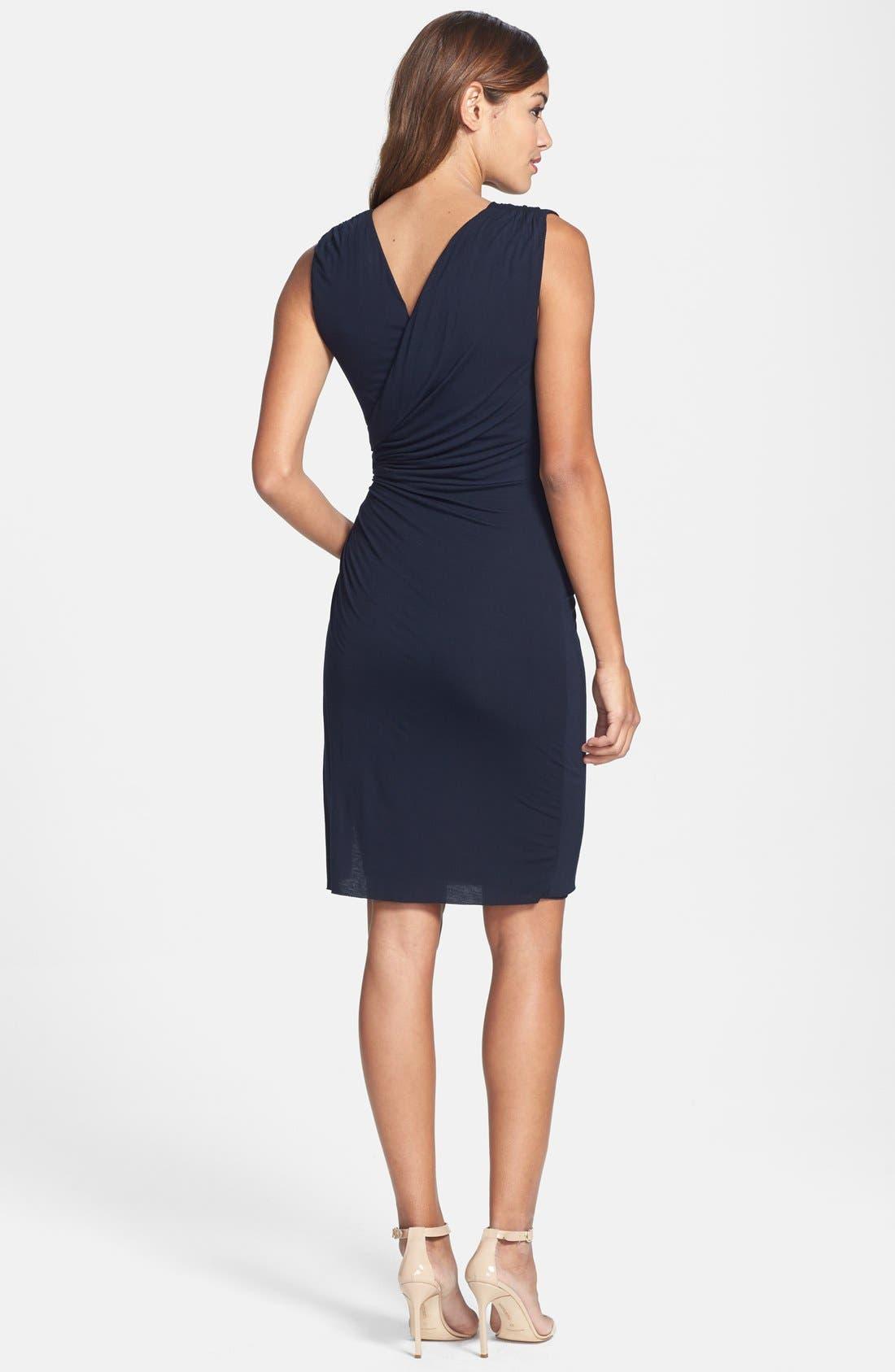 Alternate Image 2  - B44 Dressed by Bailey 44 'Drop Kick' Faux Wrap Jersey Dress