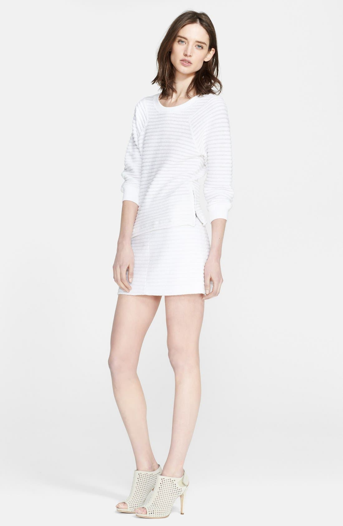 Main Image - Theory 'Ebro' Cotton Blend Sweatshirt