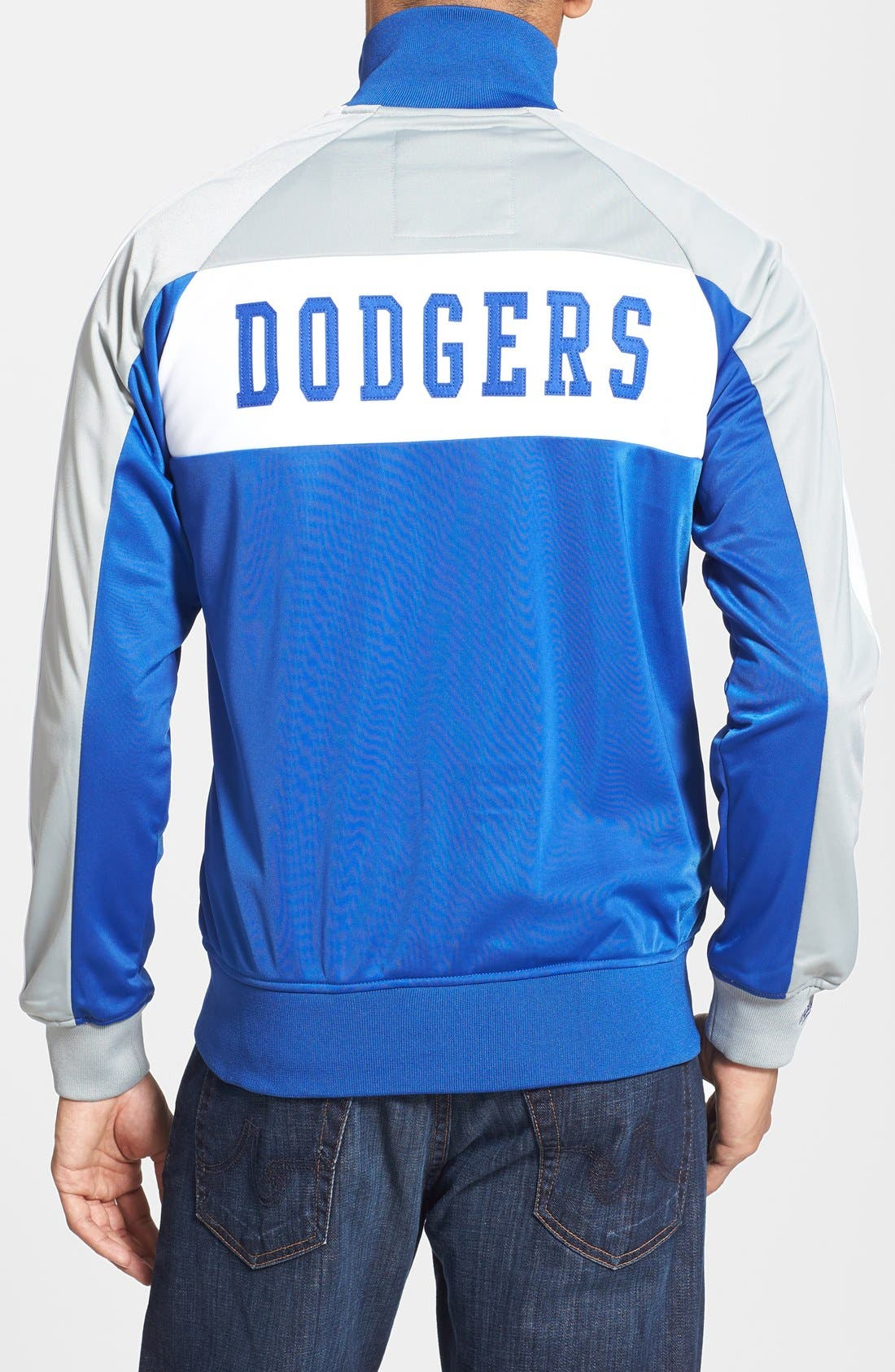 Alternate Image 2  - Mitchell & Ness 'Los Angeles Dodgers - Home Stand' Tailored Fit Track Jacket