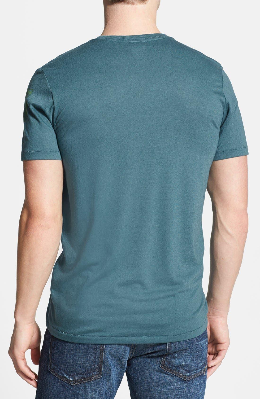 Alternate Image 2  - Nike 'New York - Glory Top' T-Shirt