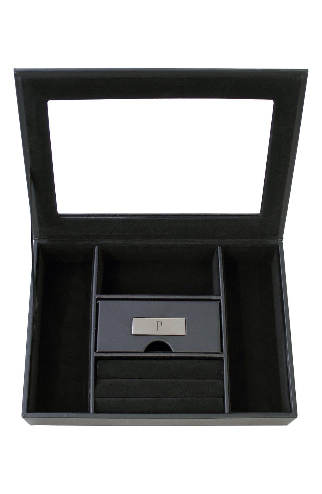 CATHY'S CONCEPTS Monogram Valet Box