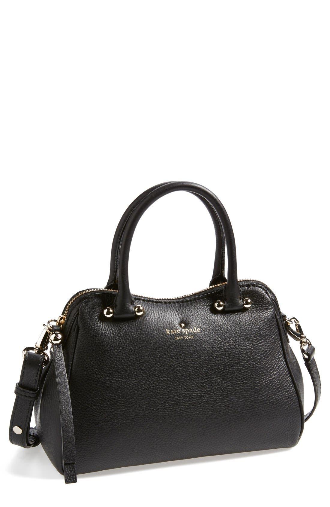 Alternate Image 1 Selected - kate spade new york 'charles street - mini audrey' leather satchel