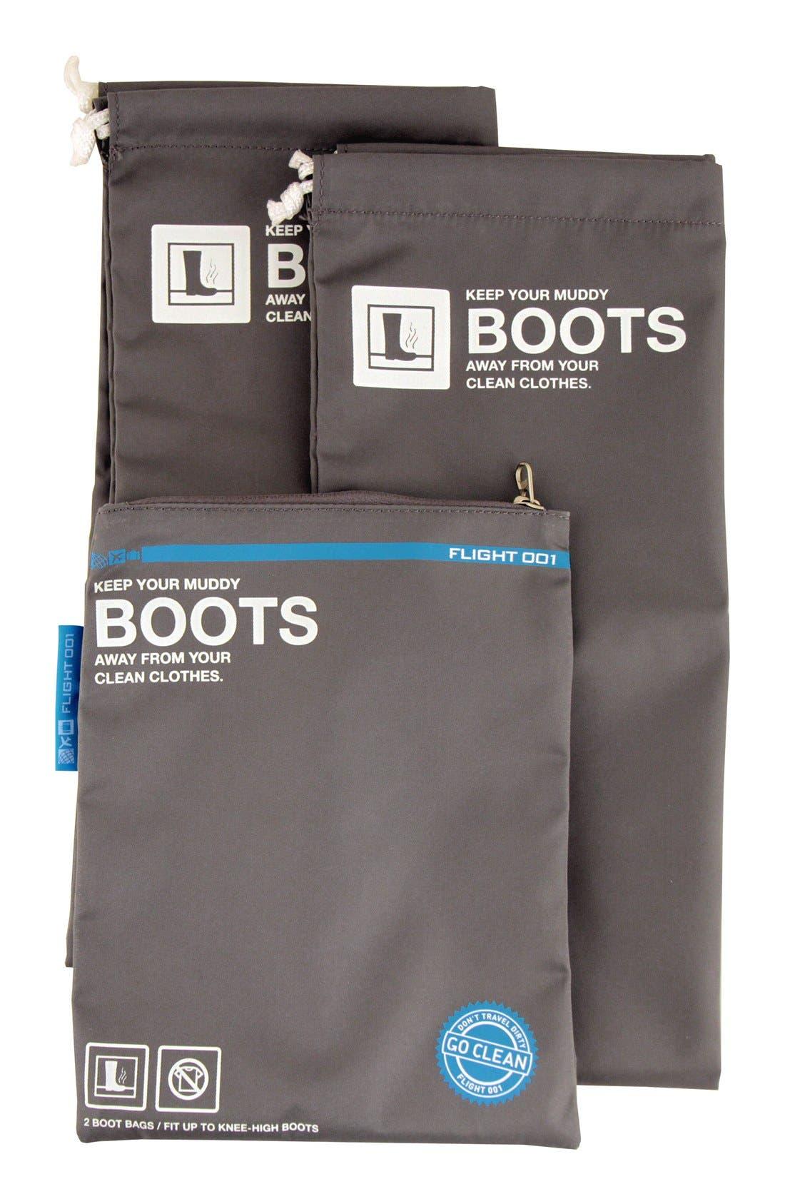 Alternate Image 2  - Flight 001 'Go Clean' Boot Travel Bags