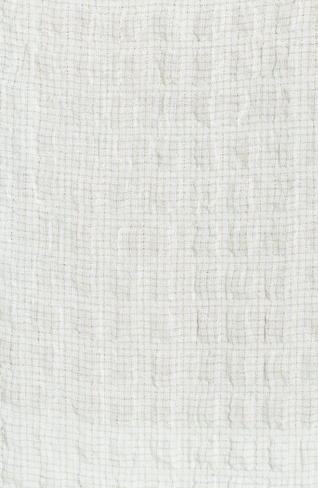 Alternate Image 3  - Eileen Fisher Ballet Neck Cap Sleeve Top
