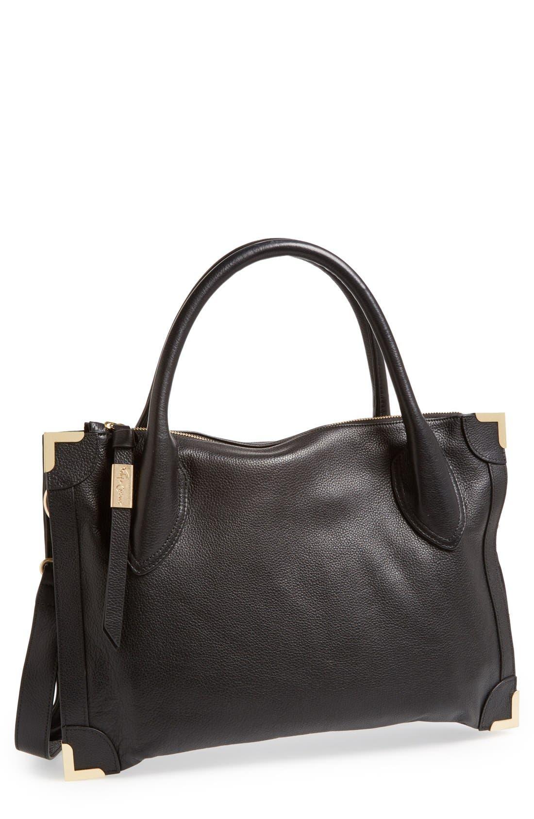 Main Image - Foley & Corinna 'Framed' Leather Satchel
