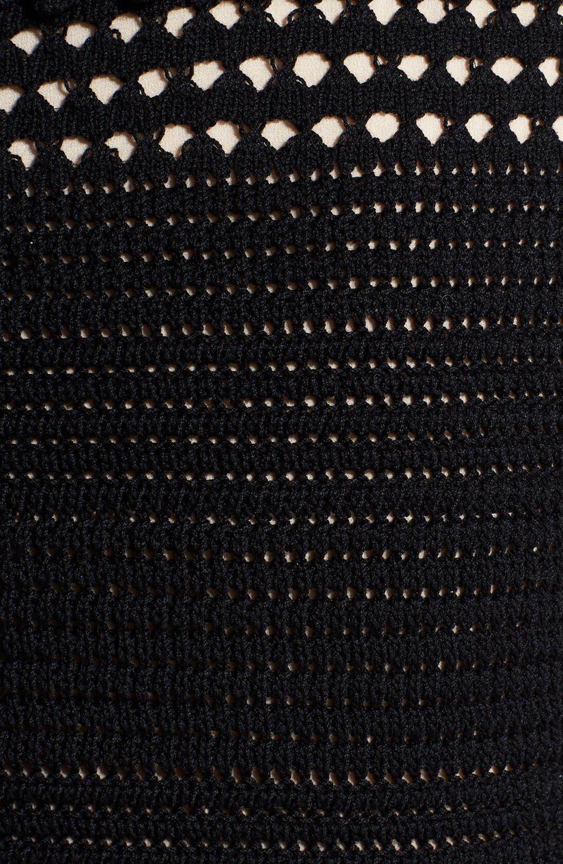 Alternate Image 3  - Alexander McQueen Sleeveless Crochet Dress