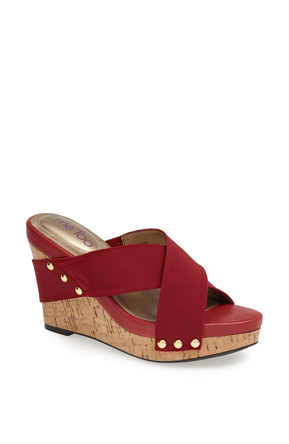 Alternate Image 1 Selected - Me Too 'Jessie' Wedge Sandal
