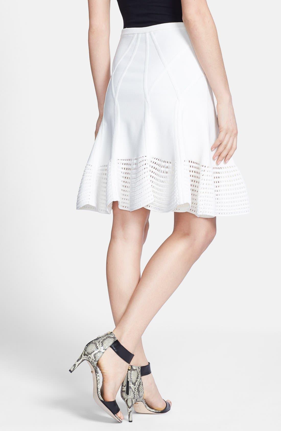 Alternate Image 2  - Diane von Furstenberg 'Samara' Knit Flare Skirt