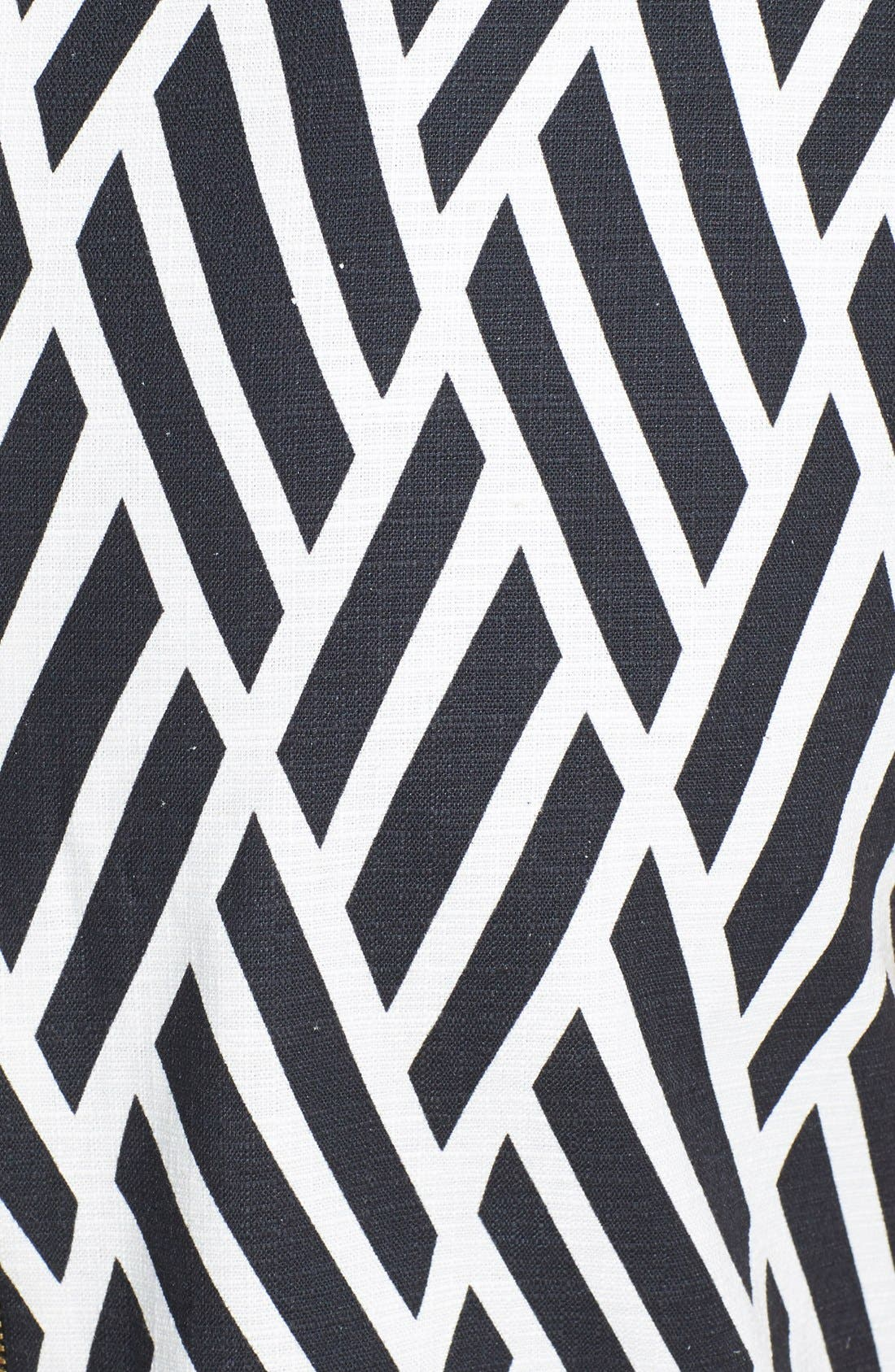 Alternate Image 4  - Tahari Jacquard Cotton Blend Shift Dress