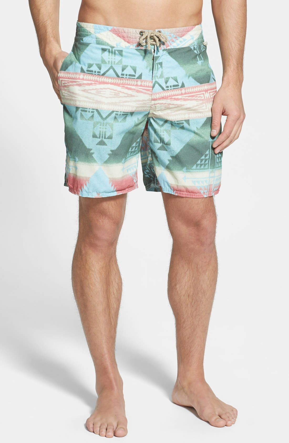 Alternate Image 1 Selected - Polo Ralph Lauren 'Palm Island' Swim Trunks