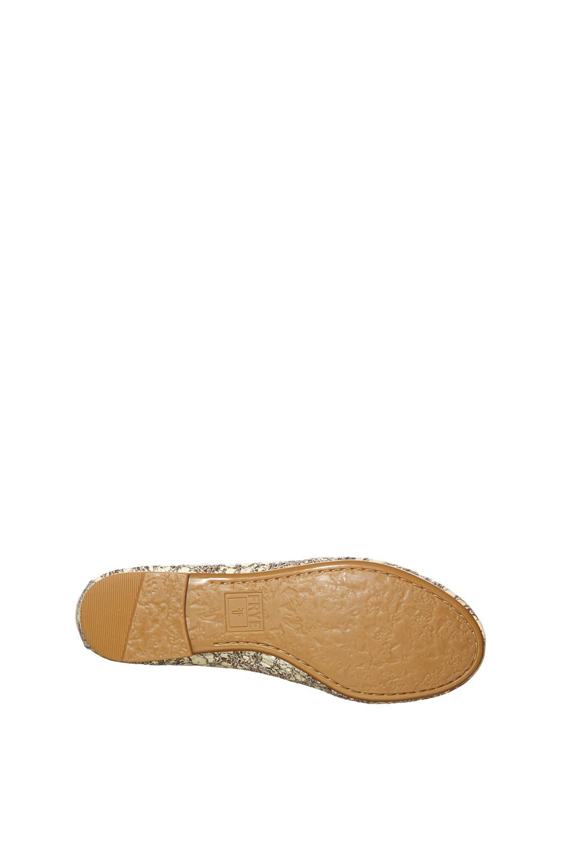 Alternate Image 4  - Frye 'Carson' Ballet Flat (Toddler, Little Kid & Big Kid)