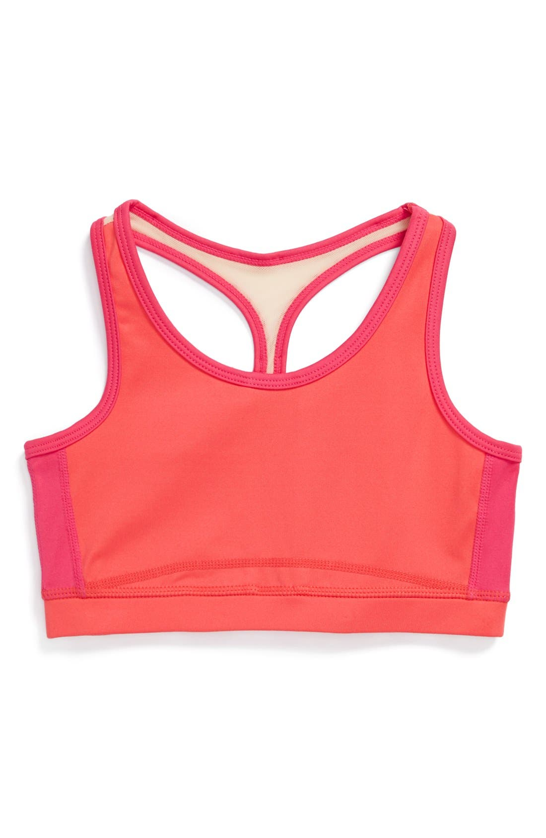 Main Image - Limeapple Racerback Sports Top (Little Girls & Big Girls)
